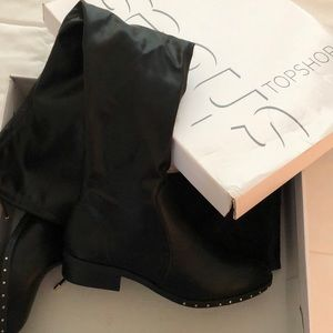 Topshop over the knee boots